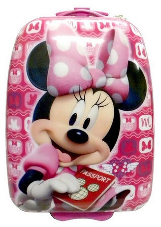 Adorable Minnie Mouse Hard Shell Suitcase for Girls
