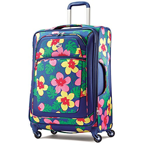 Colorful Flower Suitcase