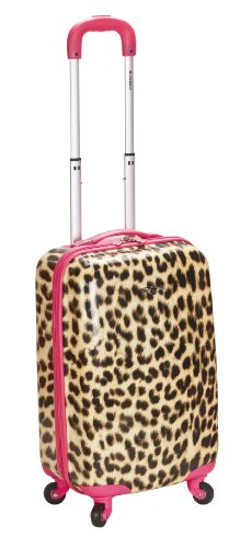 Cute Pink Leopard 20 Inch Carry On