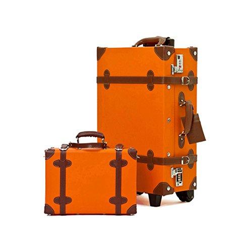 ORANGE Retro Style Carry-On Luggage