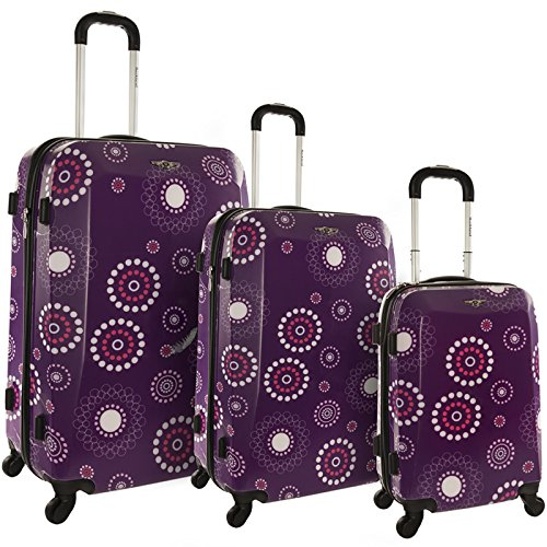 Groovy Purple Suitcases for Teen Girls