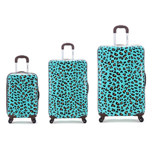 3 Piece Snow Leopard Polycarbonate Upright Sets