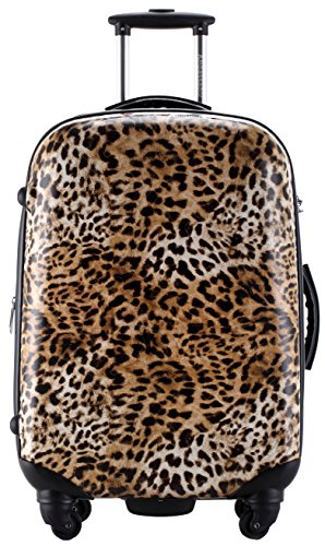 Leopard Print Fashion Suitcase 25 Inches