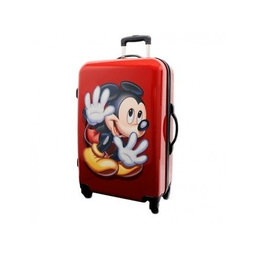 GORGEOUS Red Mickey Suitcase