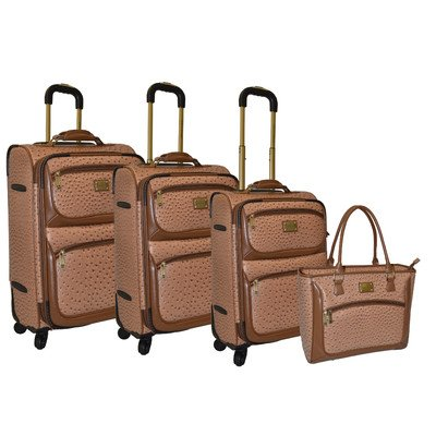 best leather luggage sets for women