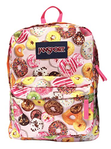 Unique Donuts Print Backpack
