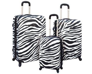 Zebra Luggage Sets