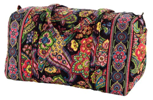 Vera Bradley Extra Large Cotton Duffel Bag