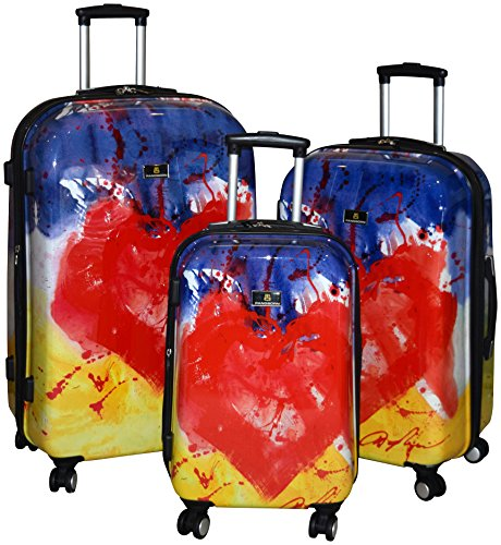 Hearts Hardside Spinner Luggage Set