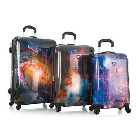 Cool Galaxy Design Suitcases