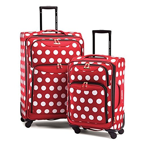 Cutest Polka Dot Suitcases