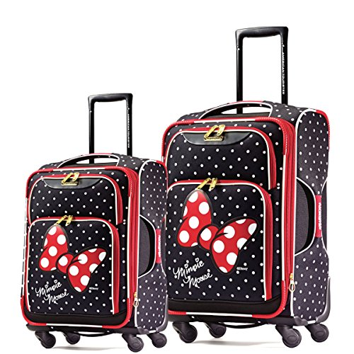 Minnie Mouse 2 Piece Polka Dot Luggage Set