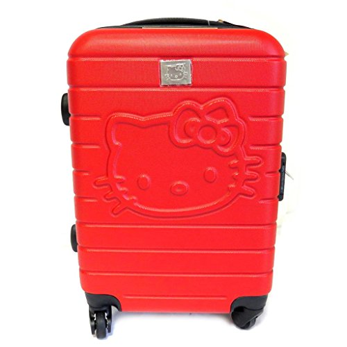 Red Hello Kitty ABS Suitcase