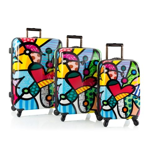 Pretty Butterfly LOVE 3 Piece Hardside Luggage