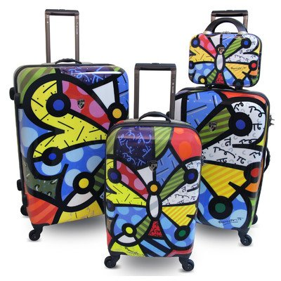 Beautiful Butterfly Suitcases