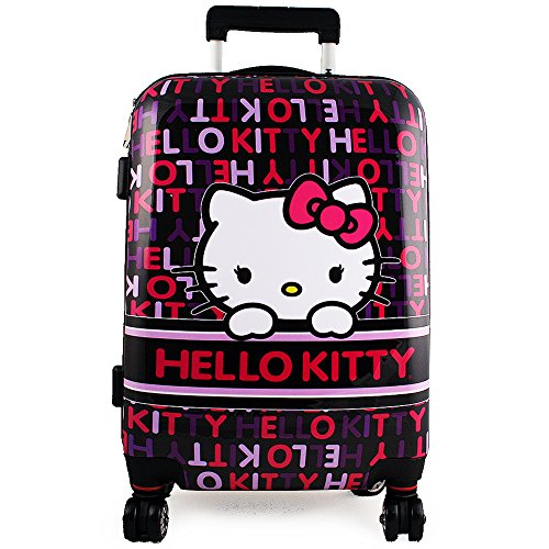 Cute Hard Sided Hello Kitty Suitcase