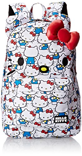 Hello Kitty Printed Nylon Backpack