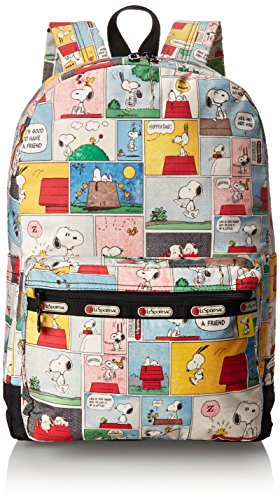 COLORFUL and Fun Snoopy Peanuts Backpack