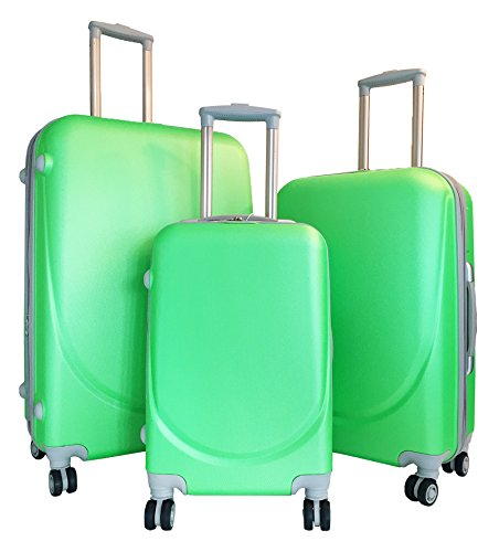 Neon Green Luggage