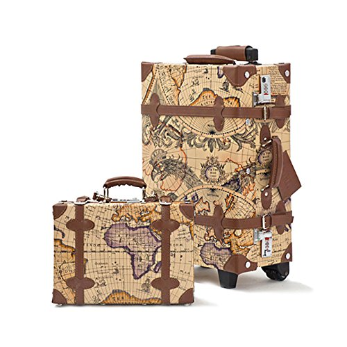 Retro Style Carry-On Luggage