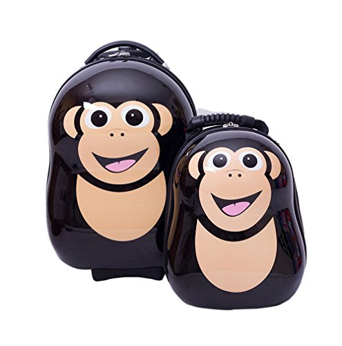 Chimp Monkey Rolling Luggage for Kids