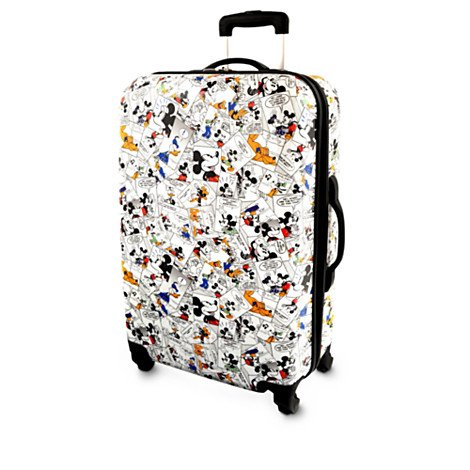Disney Mickey Mouse and Friends Comic Strip Luggage