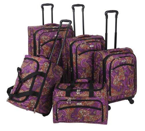 Purple Paisley 5 Piece Set Spinner
