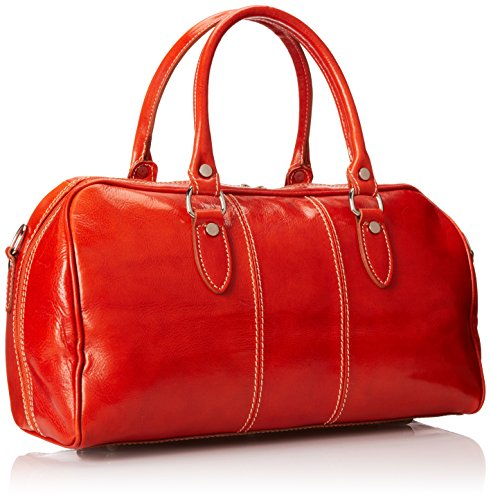 Italian Leather Duffle Bag for Women