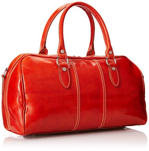 Italian Leather Duffle Bag for Women