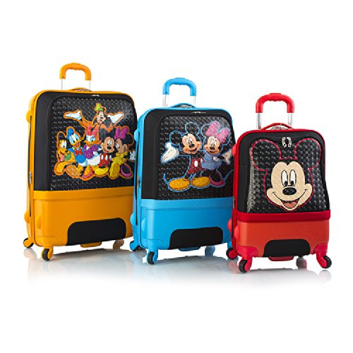 Mickey Mouse luggage set