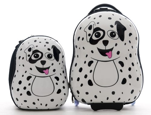 Cute Dalmatian Suitcases for Kids