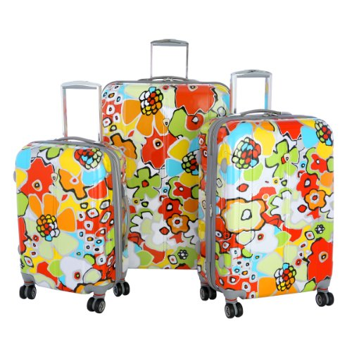 Cute Floral Luggage