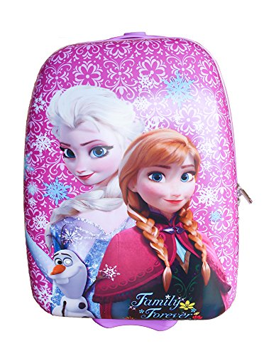 Cute Disney Frozen Hard Shell Suitcase
