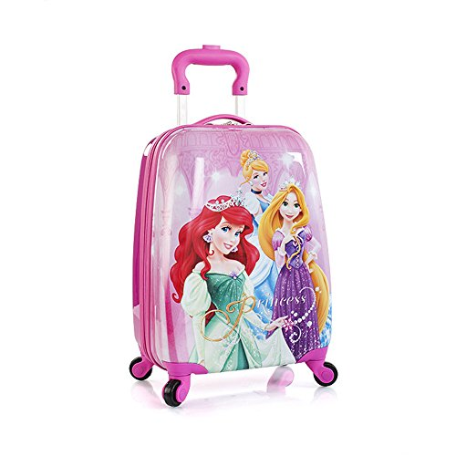 Pink Disney Princesses Suitcase