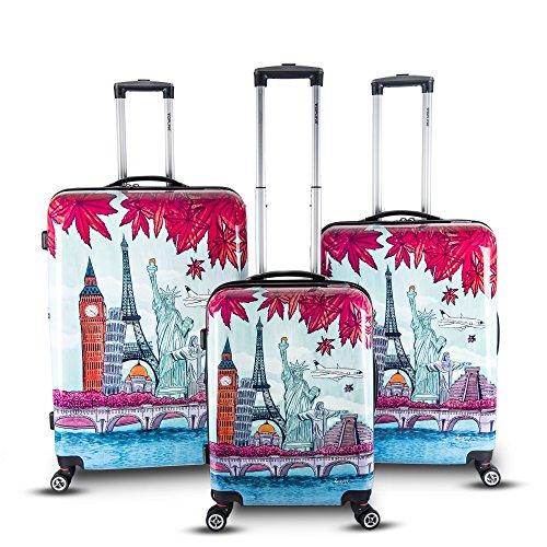 Fun Printed Luggage Set