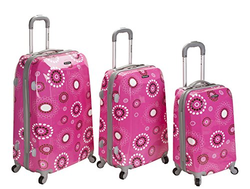 Cute Pink Luggage Set