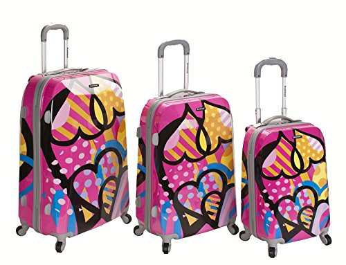 Pink LOVE Luggage Set
