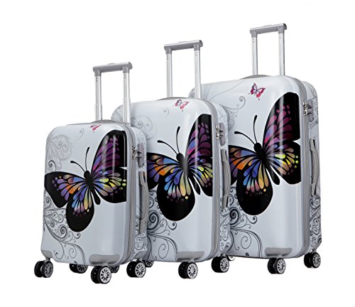 Butterfly Suitcases