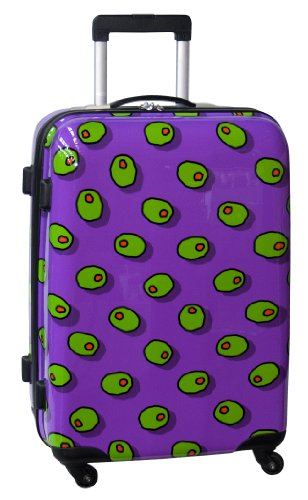 Olives Hardside 25 Inch Spinner, Purple