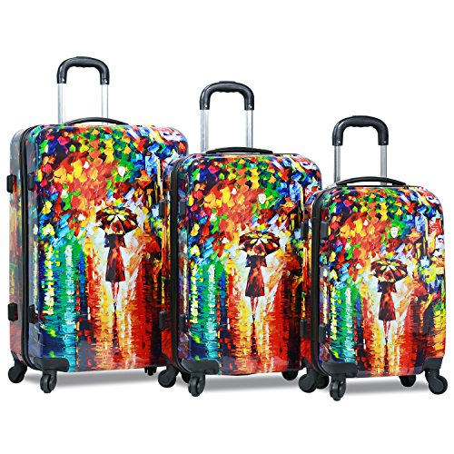 beautiful girly luggage